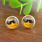 Cute Emoji Stud Earrings