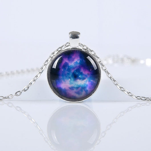 Infinite Galaxy To Space and Beyond Pendant Necklace