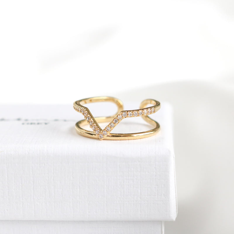 Willow Line Ring