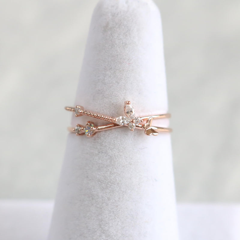Zola Butterfly Ring