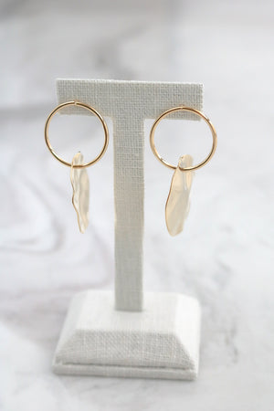 Ava Hoop Earrings