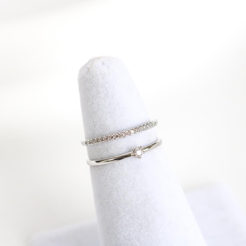 Lou Line Ring