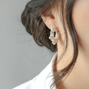 Livia Hoop Earrings