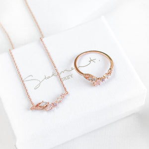 Dove Ring & Necklace Set