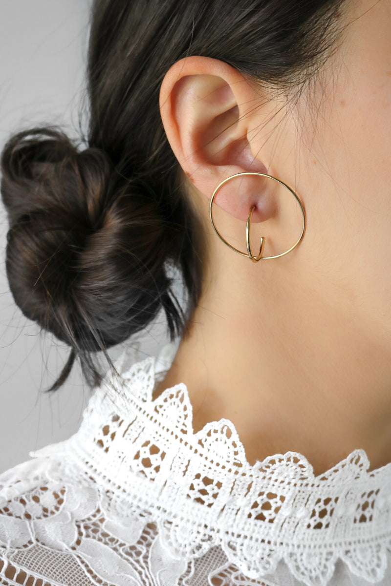 Nunet Hoop Earrings
