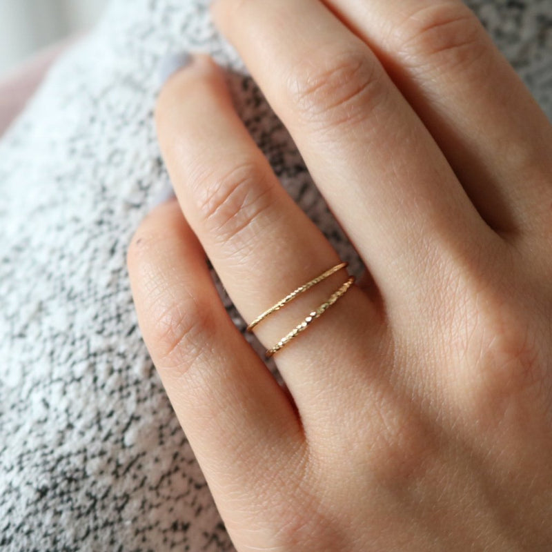Tis Ring - Sterling Silver (Gold)