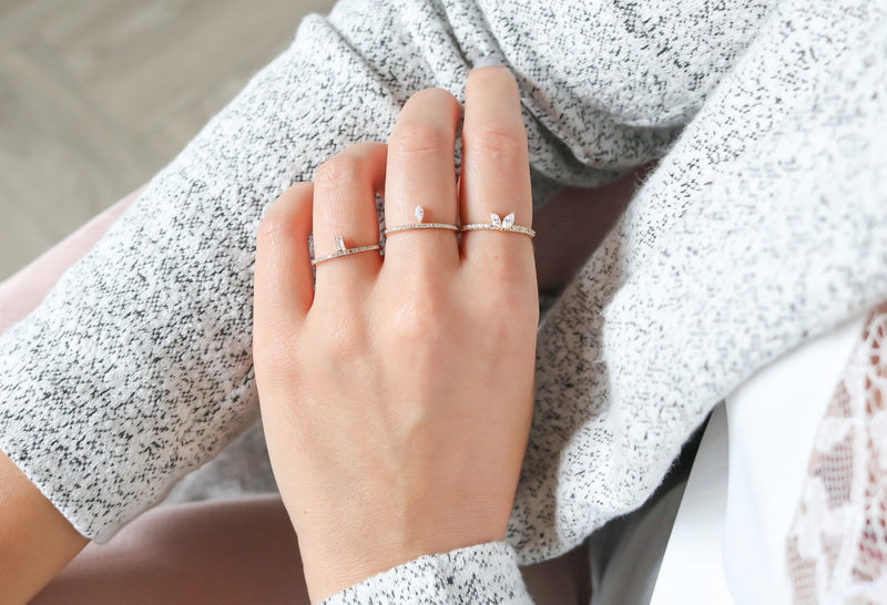 Marquise Ring - Silver