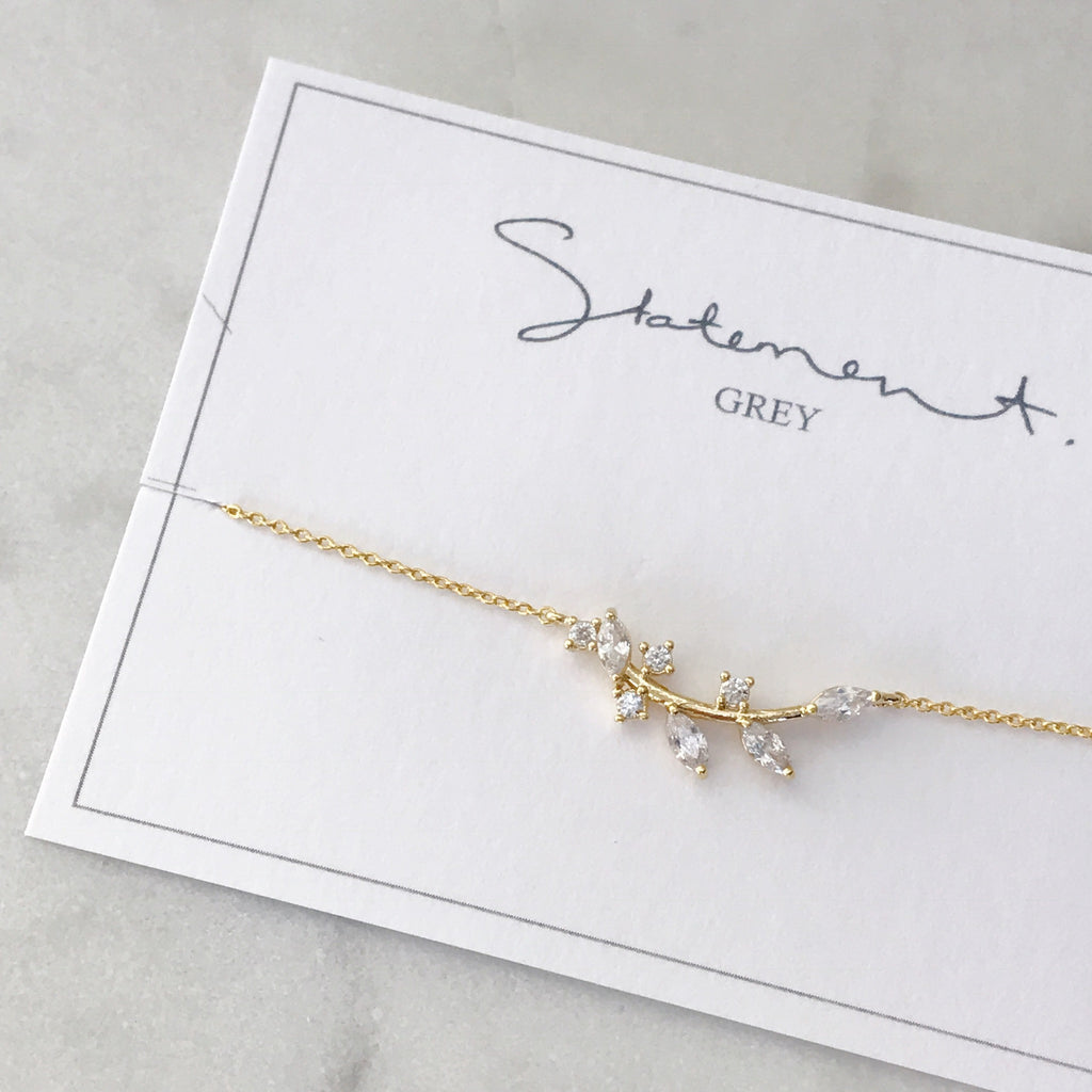 Leaf Branch Necklace