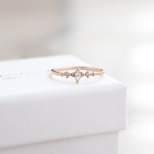 Avalon Ring - Rose Gold