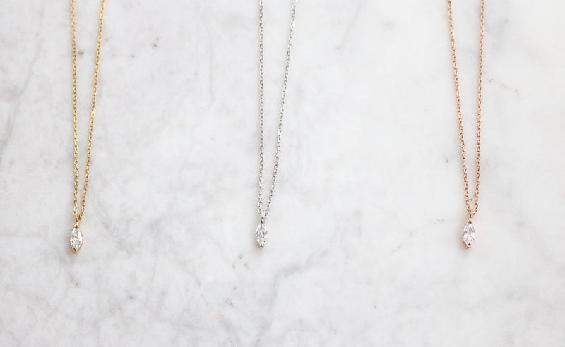 Marie Necklace - Sterling Silver