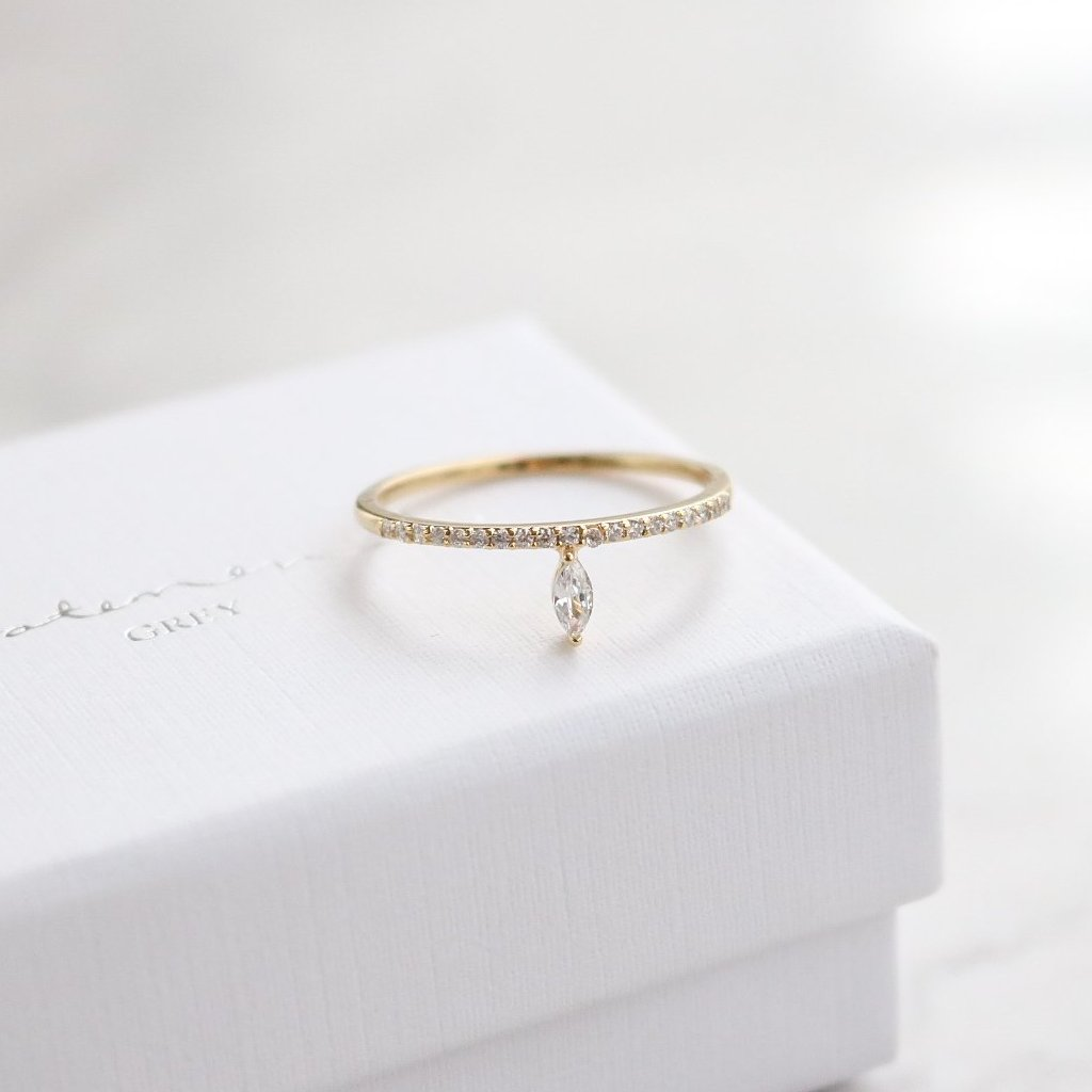 Marquise Ring - Rose Gold