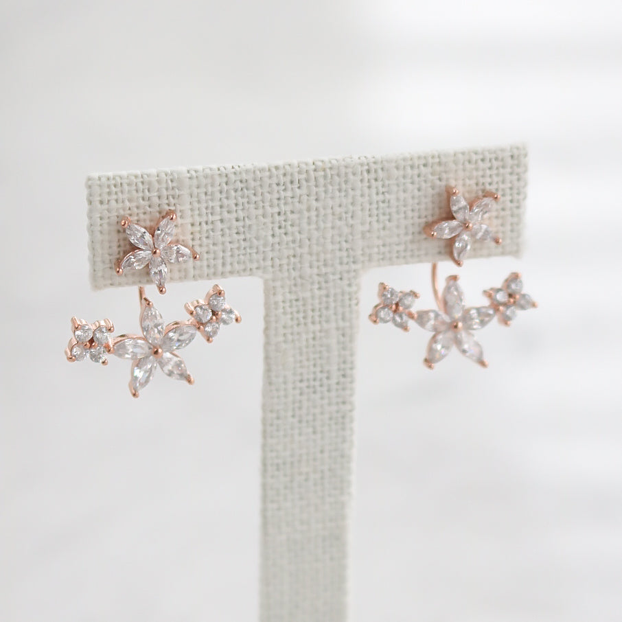 Fleur Jacket Earrings