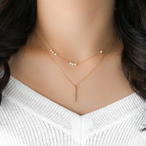 Matti Necklace - Sterling Silver