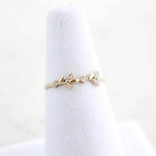 Feuilles Ring - Gold