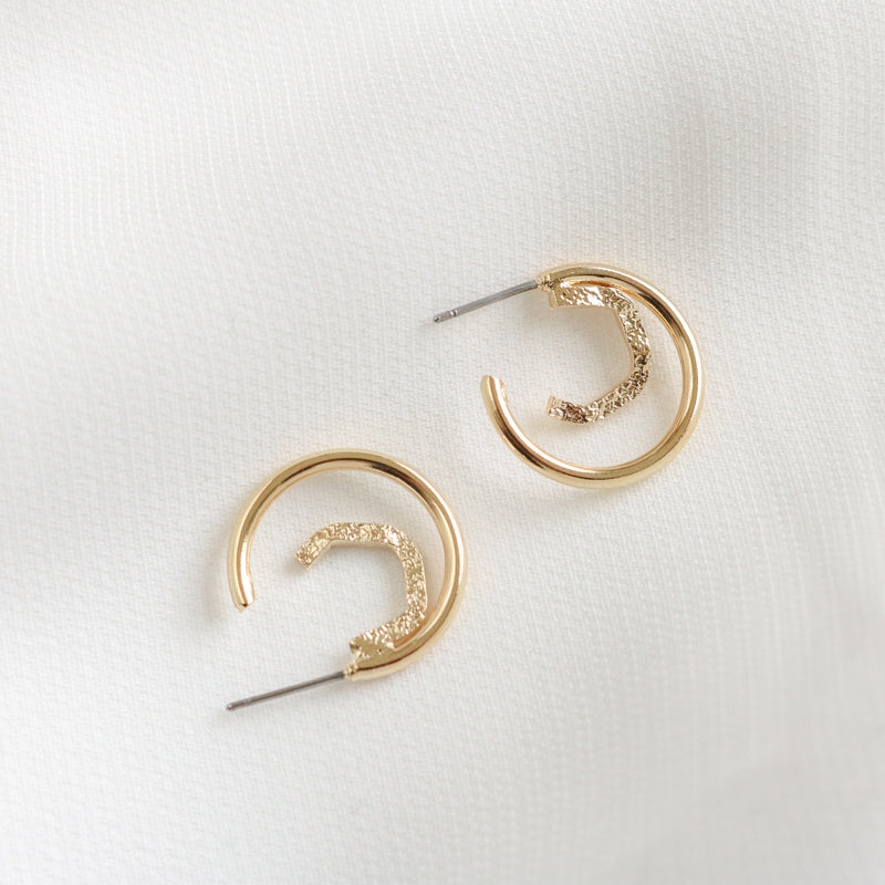 Reese Hoop Earrings