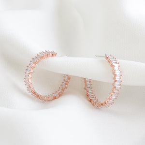 Farrow Hoop Earrings