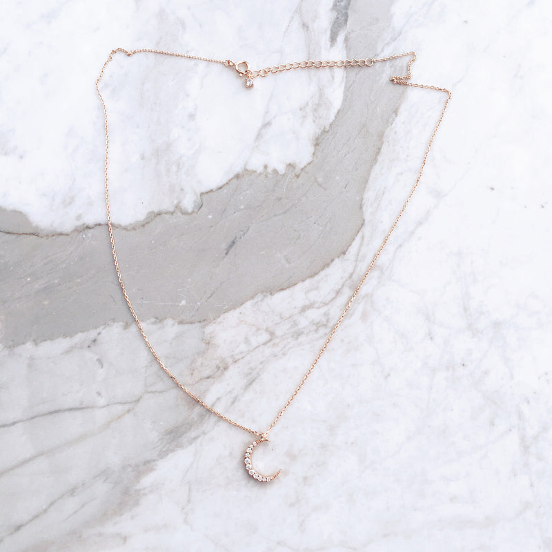 Lune Necklace - Sterling Silver