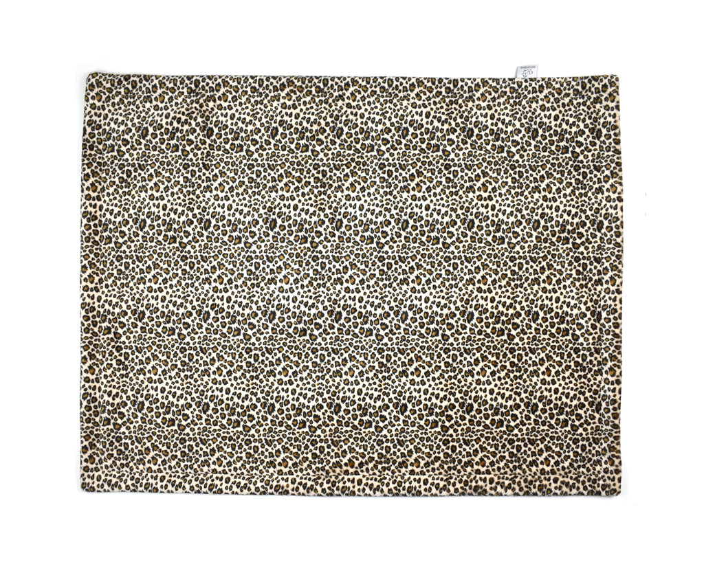 3-Layer Plush Minky Blanket | Leopard - Cozy Cottontail