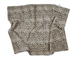 3-Layer Plush Minky Blanket | Leopard