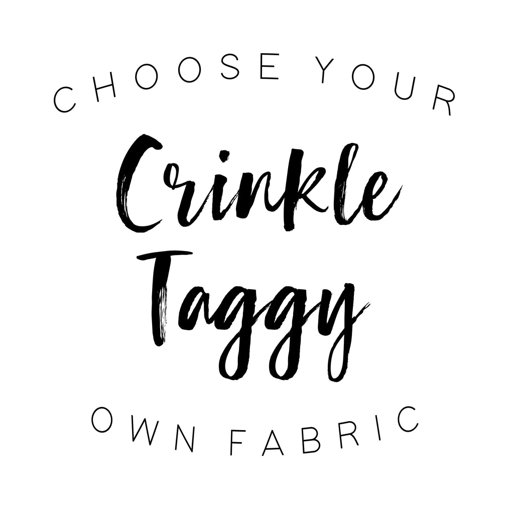 Crinkle Taggy - Cozy Cottontail