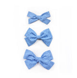 Lilly Bow | Blue Vine - Cozy Cottontail