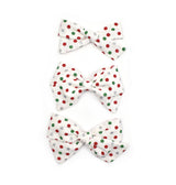 Christmas Polka Dot Bows