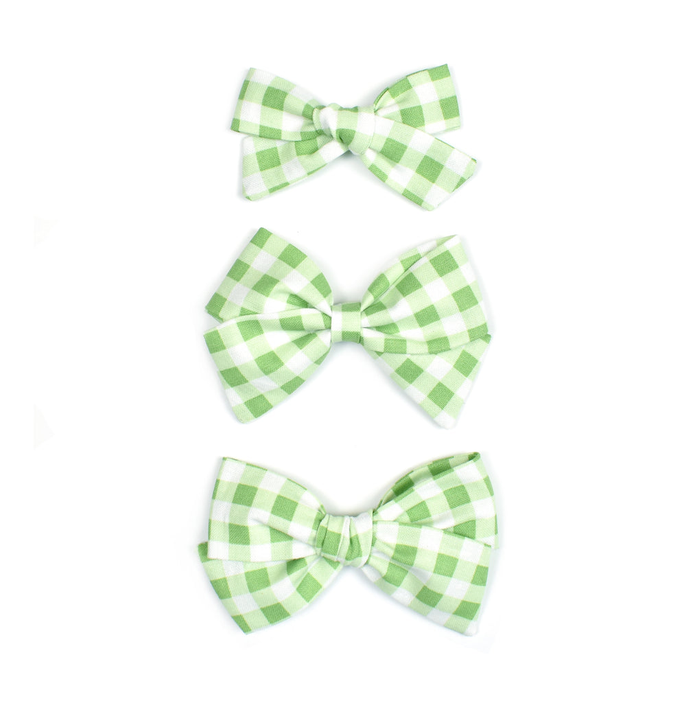 Green Plaid - Cozy Cottontail