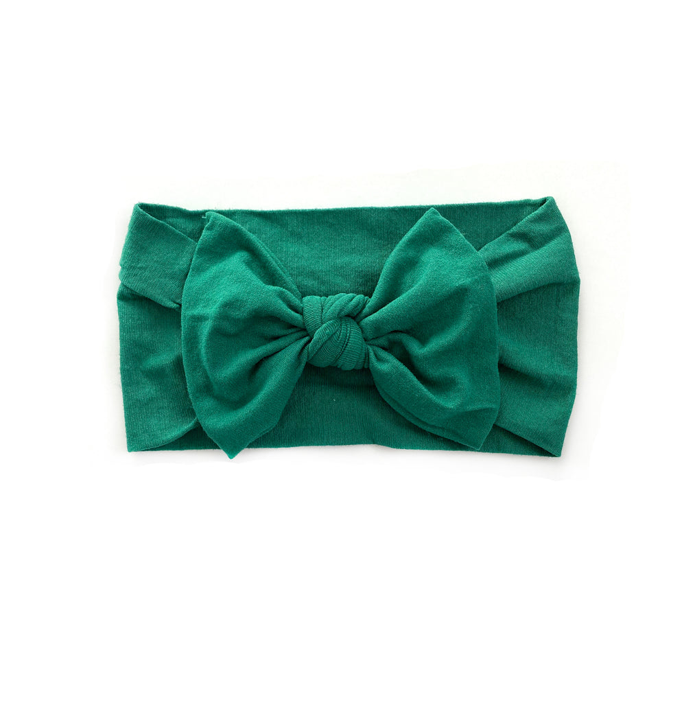 Nylon Headband | Jade Green - Cozy Cottontail