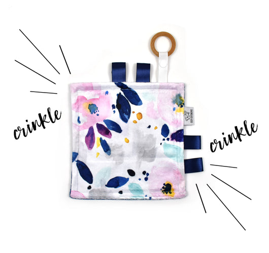 Crinkle Taggy | Mystical Floral - Cozy Cottontail