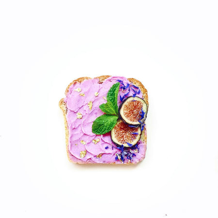"Millennial Pink ""Fancy"" Toast"