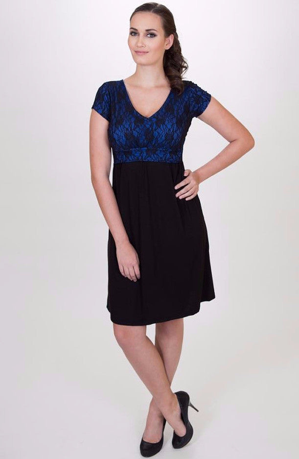 Camila dress - Special occasion maternity and Breastfeeding dress - Made in Canada - Nurture-Elle Nursing Apparel  - 1