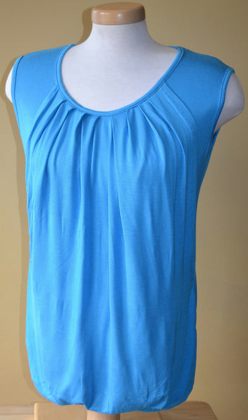 Nurture-Elle Pleated Breastfeeding Top – sleeveless - Nurture-Elle Nursing Apparel  - 2