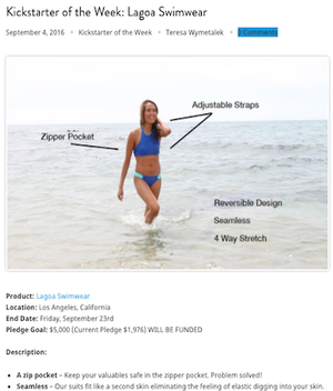 FUND BEAM | Women's Swimsuit With Zipper Pockets Has Arrived