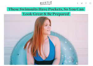 BUSTLE | These Swimsuits Have Pockets, So You Can Look Great & Be Prepared