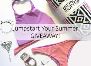 ENTER TO WIN! Jumpstart Your Summer Giveaway