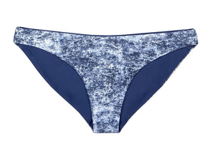 Tiffany Reversible Bikini Bottom (Denim/Navy) - Lagoa Swimwear