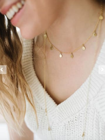 31 bits dot charm necklace - gifts that give back