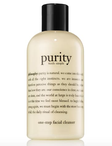 philosophy facial cleanser - gifts that give back