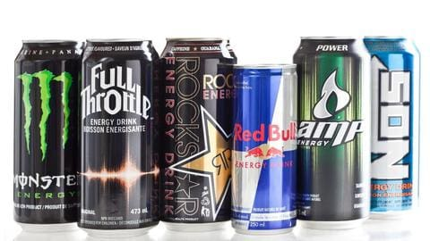 Energy drinks give you energy