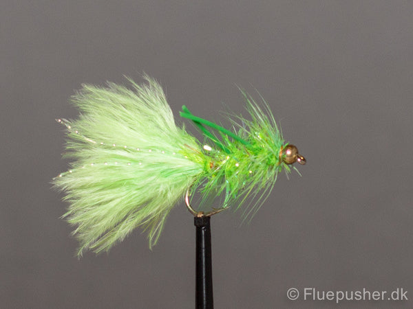Flexi legged green woolly bugger