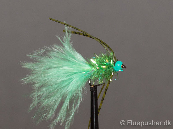 Fritz rubberlegged green pearl