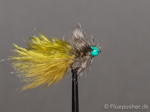 Green tungsten grizzly damsel