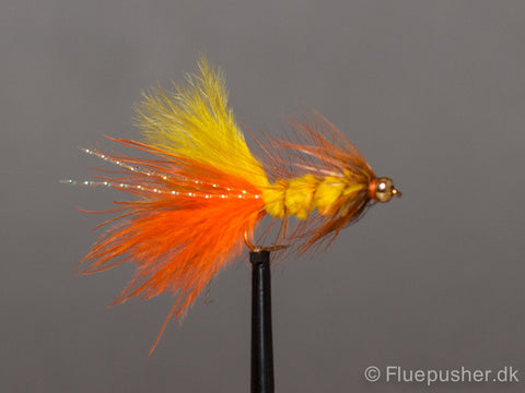 Orange/yellow woolly bugger