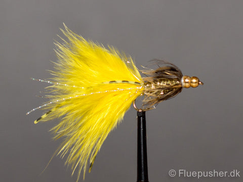 Double beaded rubberlegged gold damsel