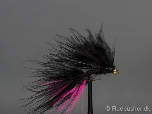 Double black/pink cats whisker
