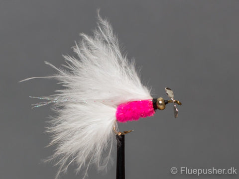 Pink white tail cats whisker propel