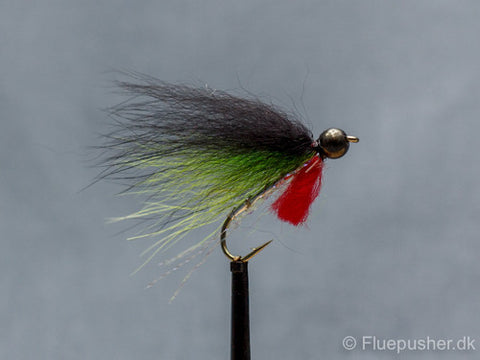 Pusher fly chartreuse