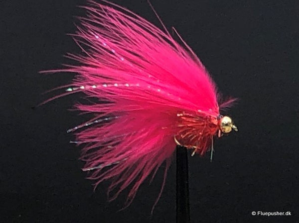 Pink Fritz mini widegap cats whisker