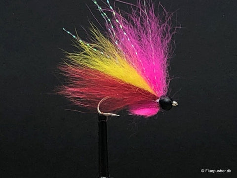 Silver wing pink/yellow