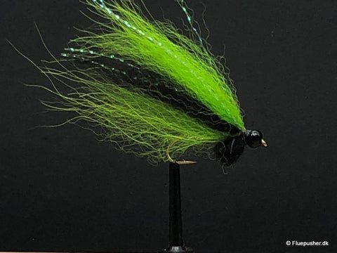 Silver wing green/black